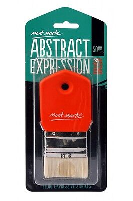 Mont Marte Abstract Expression Brush - 50mm Taklon Brush