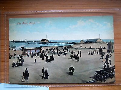 North Wales RHYL The Sands & Pier by VALENTINE
