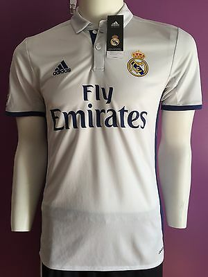 BNWT Real Madrid Home Jersey 2016/2017 - Size Men's XL