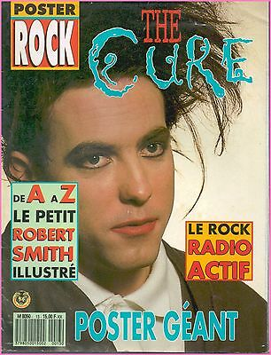 ▬►Magazine POSTER ROCK N° 13 Spécial THE CURE ROBERT SMITH