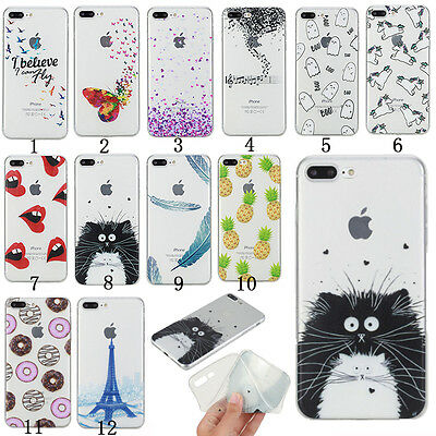 Clear Rubber Ultra Thin Silicone Soft TPU Shockproof Back Case Cover For phone