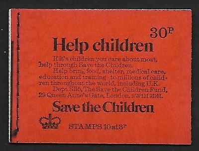 DQ73 1974 30p Stitched Booklet - good condition UNMOUNTED MINT
