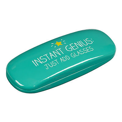 Happy Jackson Glasses Cases Blue Turquoise Glossy Plastic Protective Hard Case