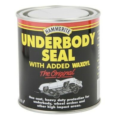 Under Body Seal 500ml Rust Treatment Contains Waxoyl Brush On Paint - Hammerite