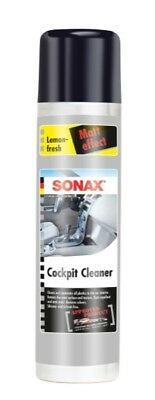 Dash Cleaner Lemon Gloss Finish 400ml Interior Dashboard Dust Free - Sonax