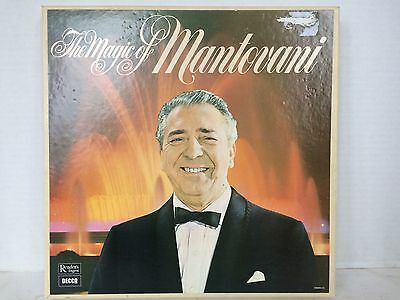 The Magic Of Mantovani 6 × Lp Record Box Set Excellent Condition Looks Unplayed
