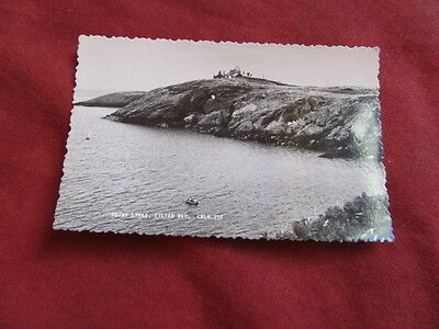 VINTAGE WALES: ANGLESEY Eilian Bay Point Lynas RP b&w
