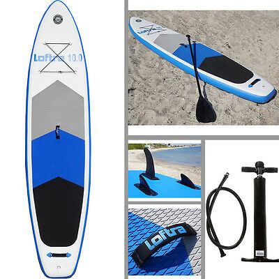 Loftra Sup Stand Up Paddle Board 10' Inflatable 305/15 Sup Isup Marin Surfboard