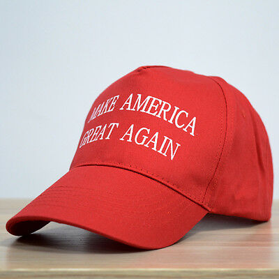 2016 Republican Make America Great Again Hat Donald Trump Cap Red High Quality