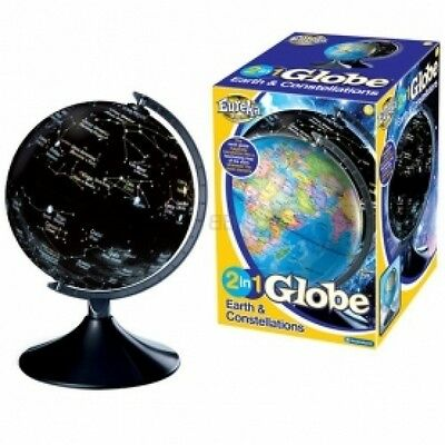 Brainstorm Toys 2 in 1 Globe Earth and Constellations Brand New