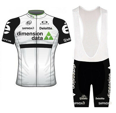 HOT ! 2016 design cycling suit (jersey and bib shorts). Labelled size MEDIUM