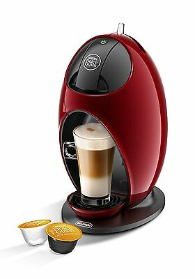 NESCAFE Dolce Gusto Jovia Manual Coffee Hot Chocolate Pod Machine RED