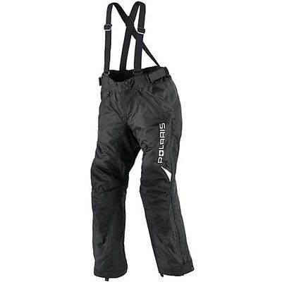 POLARIS™ Men's Black Mountain X-OVER Snowmobile Bibs / Pants 2865008_