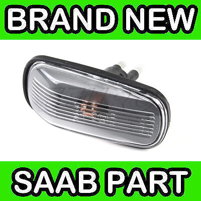 Saab 9000, 900, 9-3, 9-5 Clear Wing Indicator Lamp / Light / Lens