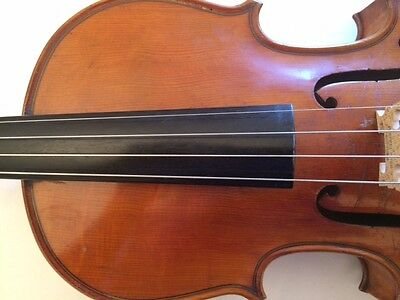 Fine old French solo violin! c1900, VIDEO