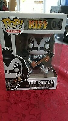 KISS Gene Simmons the demon Funko Pop Collectible. #04