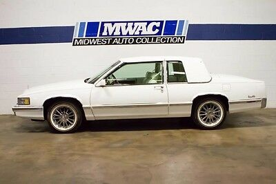 1991 Cadillac DeVille  WHITE/WHITE~VOGUES~ONE FAMILY OWNED~SERVICED~WOW~CLASSY~