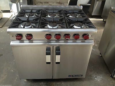 Falcon Dominator Commercial Catering 6 burner Cooker,Gas Oven,mint,immaculate