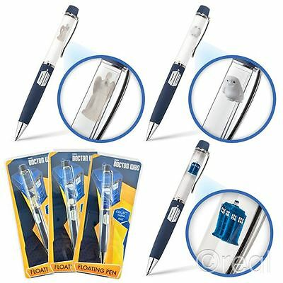 New Doctor Who TARDIS Adipose Or Weeping Angel Floating Pens Ballpoint Official