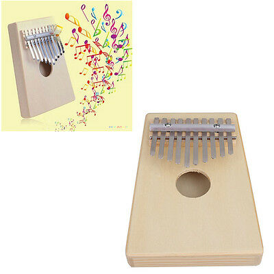 10 Key Finger Thumb Music Pocket Piano Kalimba Mbira Education Toy Instrument