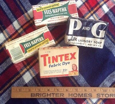 Vintage Laundry Soap And Dye