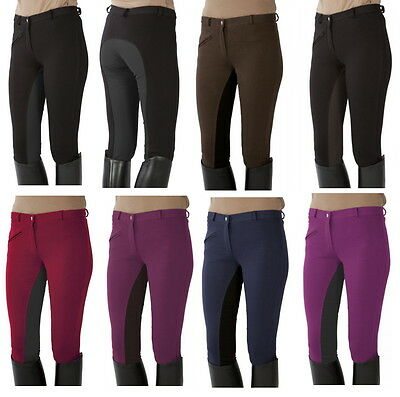 101197 PFIFF Riding Pants Full Seat Women Children trousers Size 134 to au 16