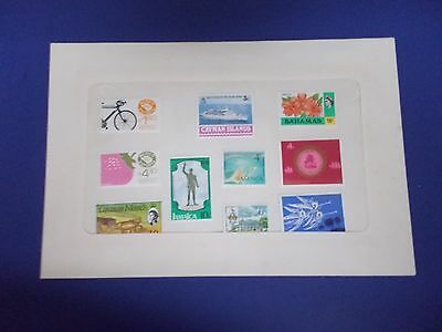 MC080 SET OF 10 MINT POSTAGE STAMPS OF THE CARRIBEAN & MEXICO  Free Shipping