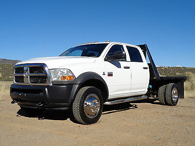 2011 Ram 5500 SLT Cab & Chassis - Crew Cab 4-Door 2011 Dodge Ram 5500 SLT Crew Cab Flat Bed Dually 4WD Cab Chassis 4X4