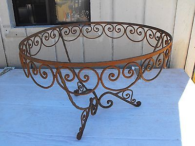 Wrought Iron Table Base or Repurpose