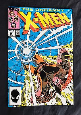 Uncanny X-Men #221 1St App Mr. Sinister Marvel Comics 1987 High Grade