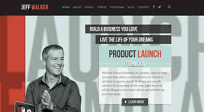 Jeff Walker - Product Launch Formula 2015 Updated + Bonuses