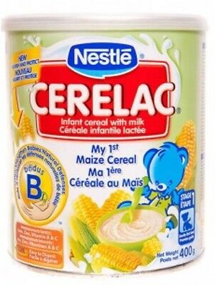 Nestle Cerelac My 1st Maize 400g Free Shipping