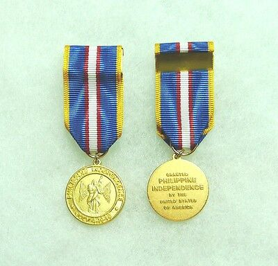 Philippine Independence Medal, miniature