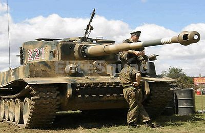 WW2 Picture Photo Tiger - the German tank that was probably the best 879