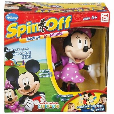 Minnie Mouse Clubhouse Spin-Off Game Brand New
