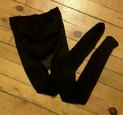 Assets size 3 maternity black tights VGUC made in USA