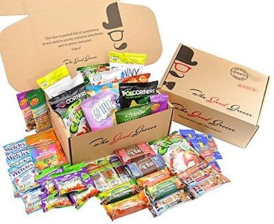 Healthy Snacks Care Package (46 Count) by The Good Grocer