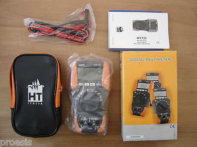 HT Italien HT326 HR000326 multimeter tester cat IV 600V digital 4000 punkte