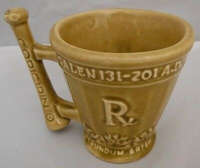 4 Inch Tall Shering Coricidin Mortar And Pestle Advertising Mug