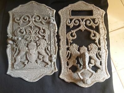 vintage Dorgril Doorknocker 2 pieces