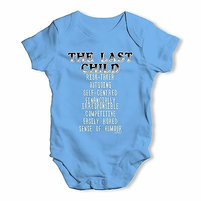 Twisted Envy The Last Child Attributes Baby Unisex Funny Baby Grow Bodysuit
