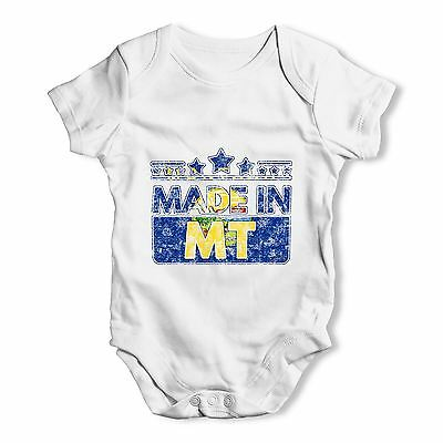 Twisted Envy Made In MT Montana Baby Unisex Funny Baby Grow Bodysuit