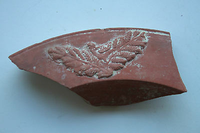 ANCIENT ROMAN POTTERY SHARD DOVE in TREE 4th CENTURY AD