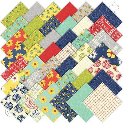 "Patchwork/quilting Fabric Layer Cake Moda -Sweet Life - 40 X 10"" X 10"""