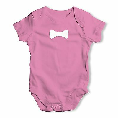 Twisted Envy Bow tie Baby Unisex Funny Baby Grow Bodysuit