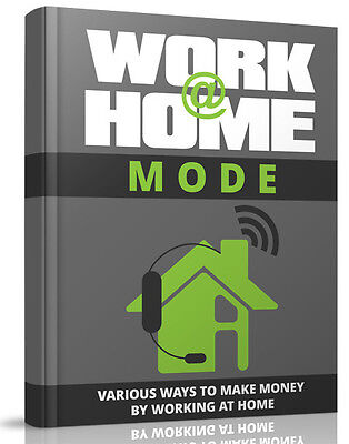 Work at Home Mode eBook-PDF Master Resell Rights
