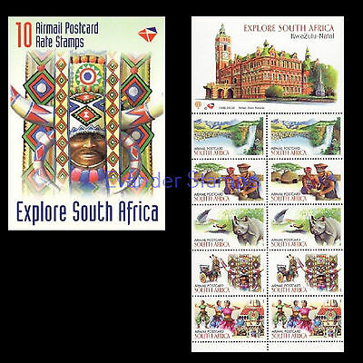 South Africa 1998 Explore South Africa - KwaZulu-Natal Booklet, MNH