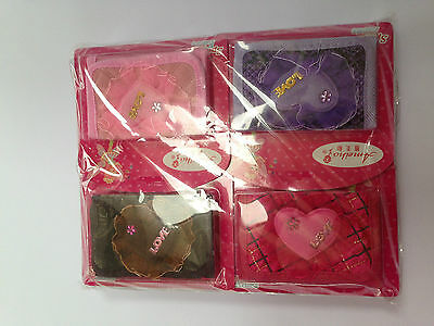 wholesale joblot girls wallet purse - 24 assorted