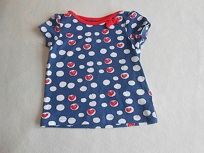 Baby Girls Clothes 0-3 Months - Cute T Shirt  Top - New -