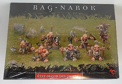 Rackham Confrontation RAG NAROK Metal Tir Na Bor Dwarf WAR STAFF OF THE PLAINS